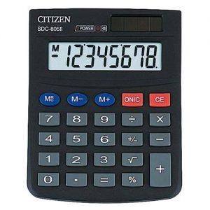 Калькулятор Citizen SDC-805, 8 разрядов