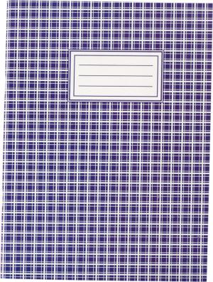 Книга канцелярская А4, 48листов, картонная обложка, линия