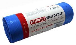 Пакеты для мусора PRO-16113100 60л, 40шт, 8мкм, синие