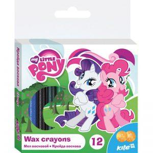 Мелки восковые, 12 цветов Little Pony LP16-070